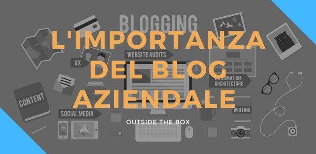 L'importanza dei blog all'interno di un sito web