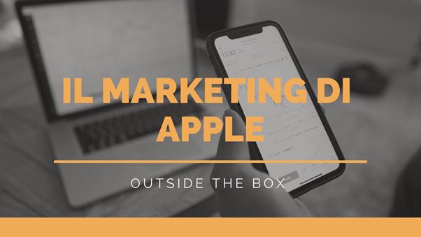 La strategia marketing di apple